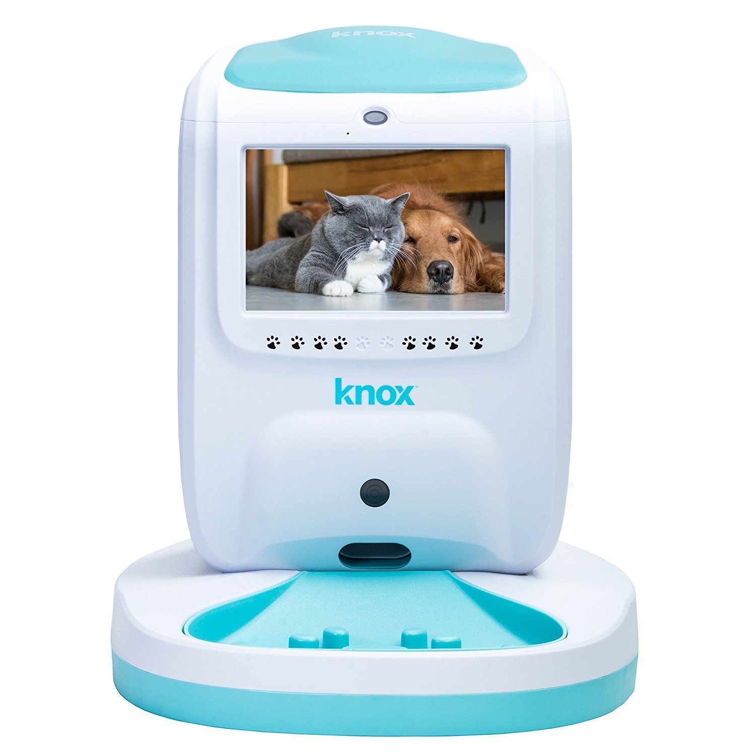 Knox - Smart Wireless Wi-Fi Automatic Dog and Cat Feeder with Two Way Video & Audio