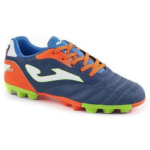 Zapatillas Fútbol Joma Toledo JR 703 Marino 24 Tacos: Amazon.es: Zapatos y complementos