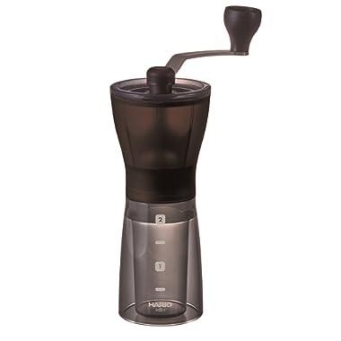 Hario MSS-1DTB Ceramic Coffee Mill Mini-Slim Plus