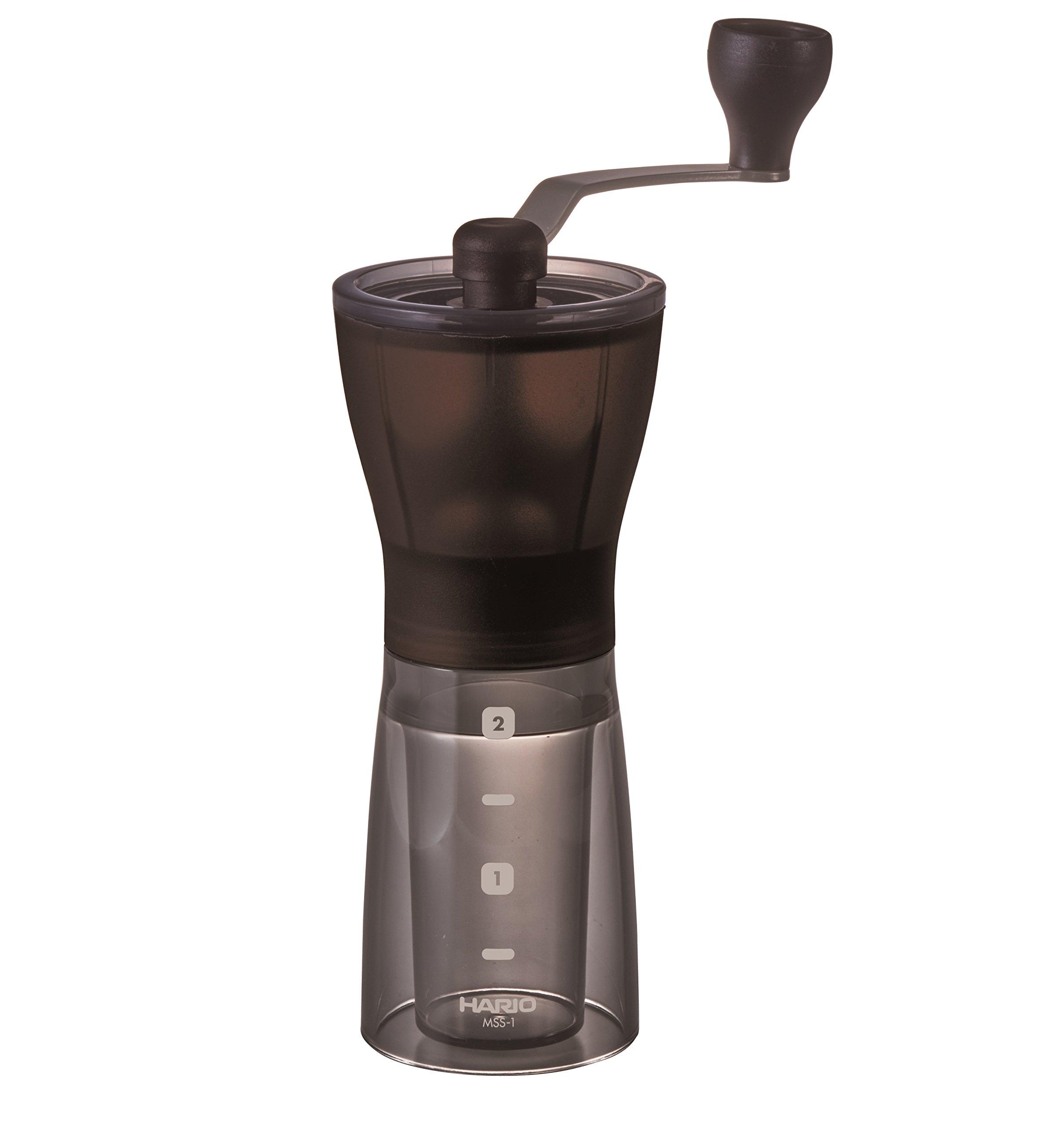 Hario MSS 1DTB Ceramic Coffee Mill Mini Slim Plus