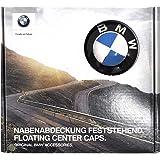 BMW純正部品 フローティング センター キャップ 56mm 4個1セット ハブキャップ ホイールセンターキャップ 2' F45 Active Tourer 2' F46 Gran Tourer 5' G30 5' F90 M5 5' G31 6' G32 GT 7' G11 7' G12 8' G15 F48 X1 F39 X2 G01 X3 G02 X4 G05 X5