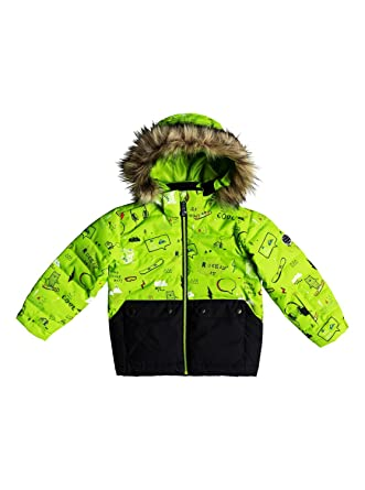 090307f380531 Quiksilver Edgy - Veste de Snow pour Garçon 2-7 Ans EQKTJ03008: Quiksilver:  Amazon.fr: Vêtements et accessoires