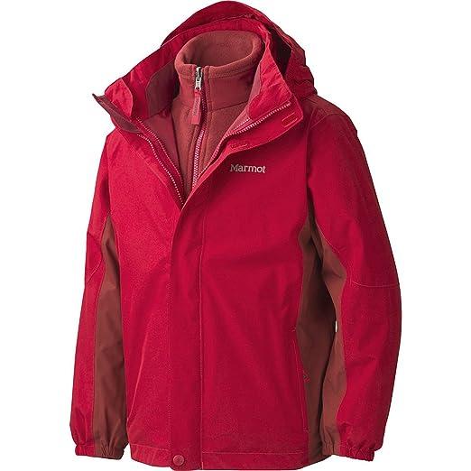 Amazon.com   Marmot Northshore 3-in-1 Jacket - Boys  Team Red Dark ... ea27ebe250
