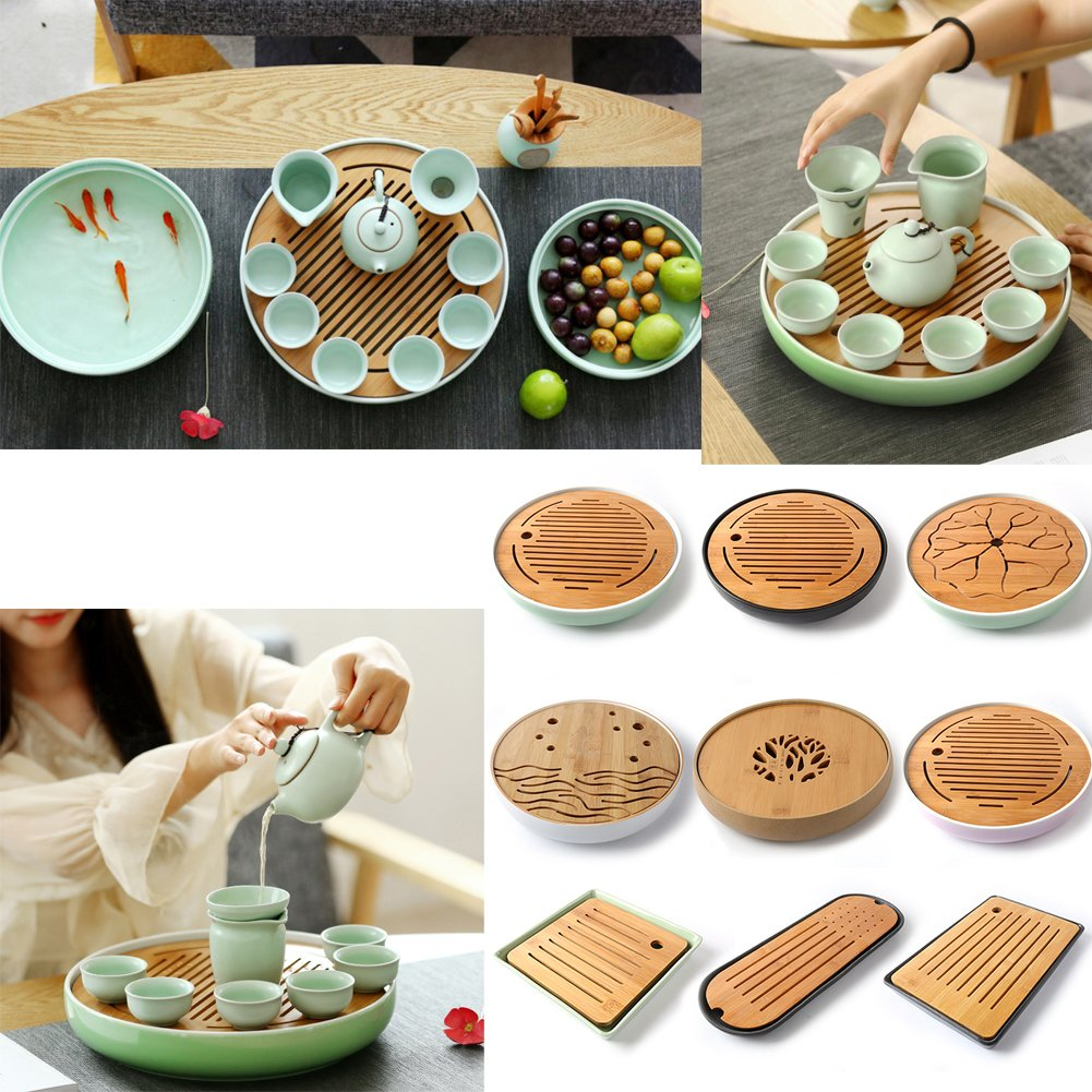 Japanese Style Tea Tray Tea Set Chinese Kung Fu Tea Set# I by FANCY PUMPKIN (Image #2)