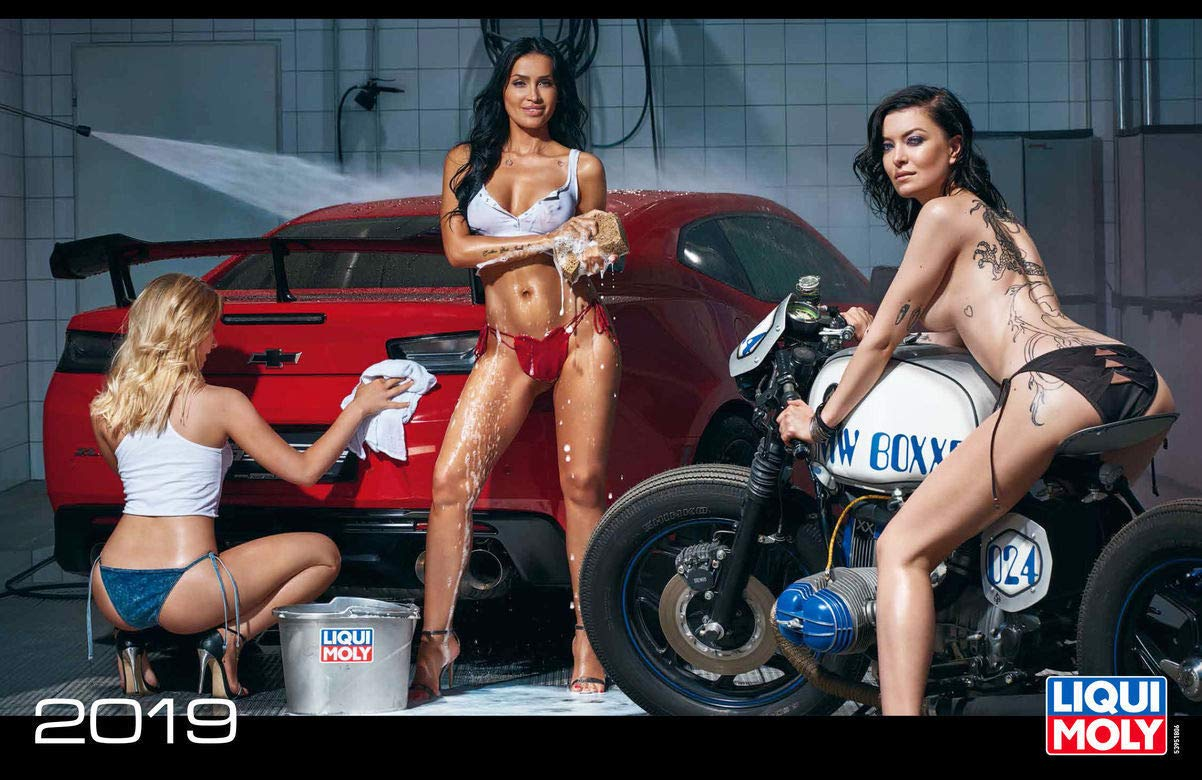 Celebrity Liqui Moly Official Calendar 2018
