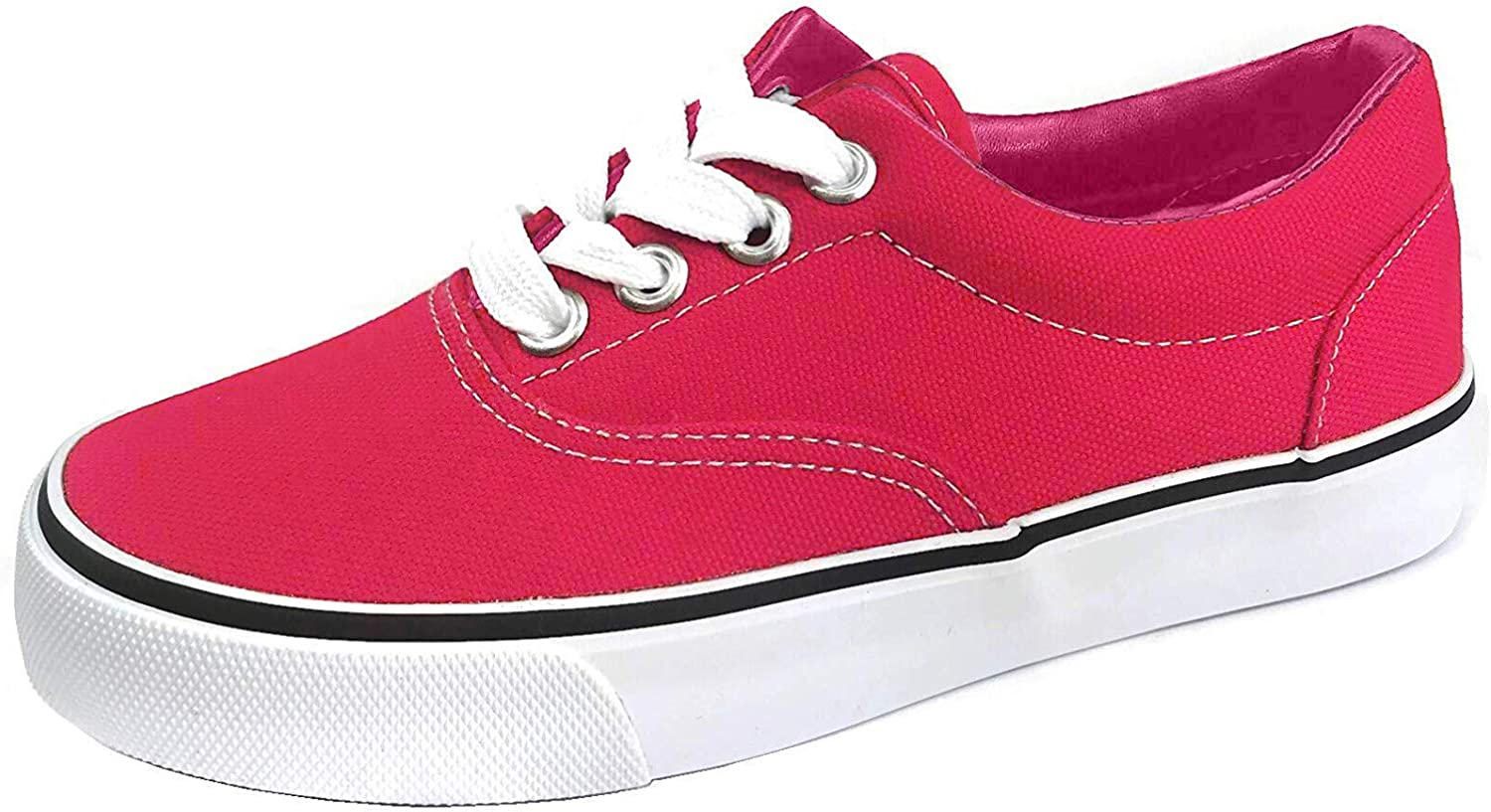 Kids Classic Lace-Up Sneaker Shoes for Boys and Girls