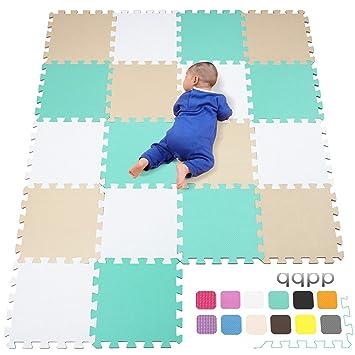 qqpp Alfombra Puzzle para Niños Bebe Infantil - Suelo de Goma EVA ...