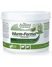 AniForte Wurm-Formel 200 g für Schafe, Ziegen und Nutztiere, Praktische und 100 Prozent natürliche Einmalgabe Bei und Nach Wurmbefall