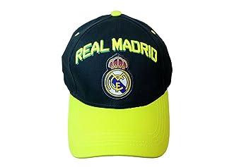 Real Madrid España fútbol sol hebilla la Liga curva Bill gorra Blanco Sombrero Gorra: Amazon.es: Deportes y aire libre