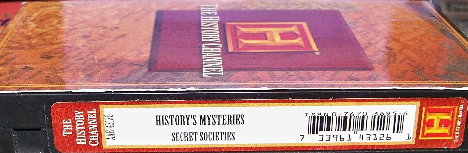 History's Mysteries: Secret Societies VHS