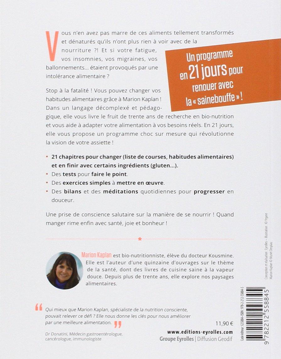 Populaire Amazon.fr - J'arrête la malbouffe ! 21 jours pour changer - Marion  GT16