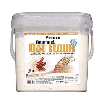 Weider Oat Gourmet. Harina de Avena Integral. Fuente de proteína con bajo contenido en azúcares. Sabor Arroz con Leche (1,9 kg)