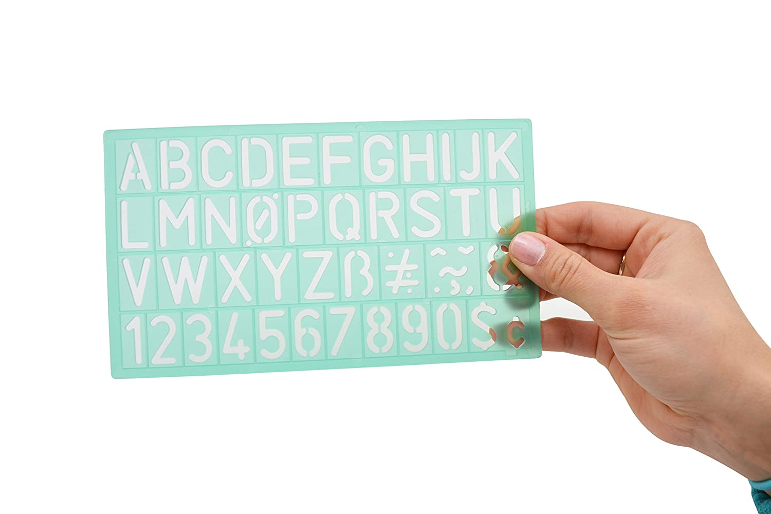 Westcott Letter Stenciling Guides 4 sizes