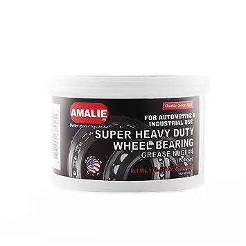 Amalie Heavy Duty rueda Rodamientos grasa # 4 - 1lb latas: Amazon.es: Coche y moto