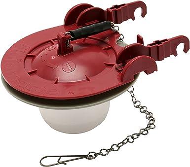 Fluidmaster 5403 Universal Water-Saving Long Life Toilet Flapper for 3-Inch Flush Valves, Adjustable Solid Frame Design, Easy Install