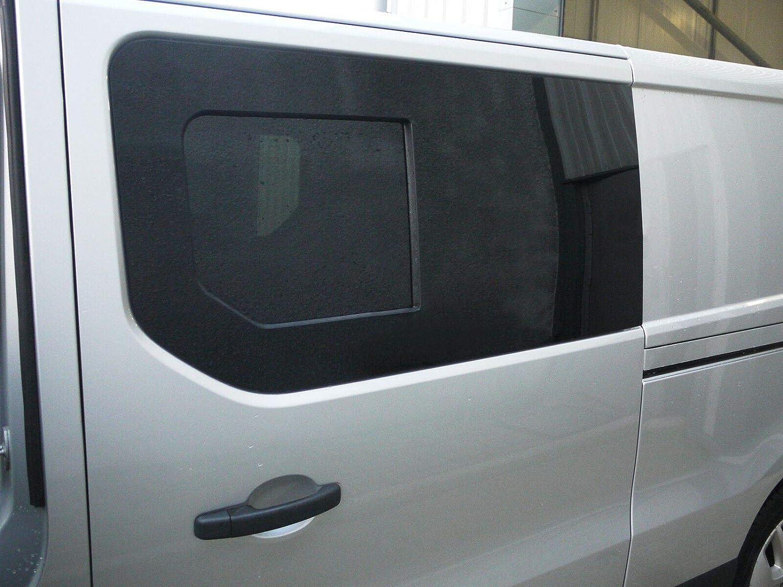 Mano izquierda ventana abatible para puerta corredera, tintado oscuro Opel Vivaro (2014 On): Amazon.es: Coche y moto