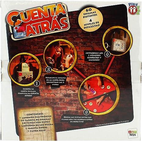 IMC Toys 98459 Cuenta Atrás - Juego escape room para niños , color/modelo surtido: Amazon.es: Juguetes y juegos