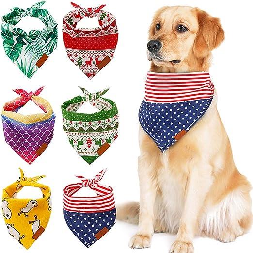 Handfly Perro de Navidad Pañuelo para Perros Bufanda para Perros ...