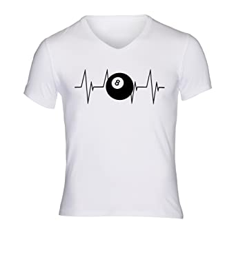 Amazon.com  THURDY8 Design Heartbeat Cue Sports Magic 8-Ball Unisex ... 1b12a33cb2