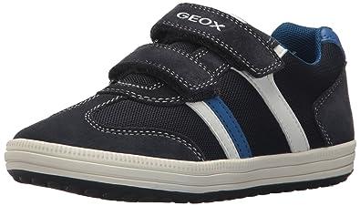 a7e8e86f72370 Geox Boys' VITA 31 Sneaker, Navy/White, 25 M EU Toddler (