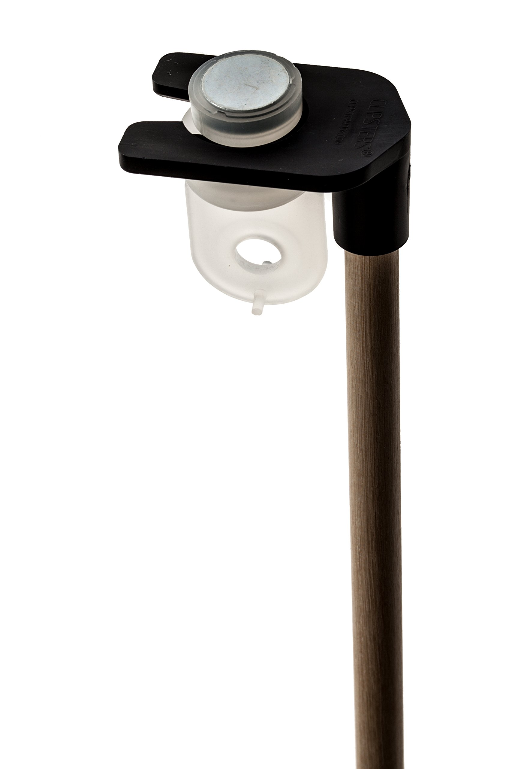 Magster Magnetic Drop Ceiling Loop with Pole (Package of 12) - Made in The U.S.A