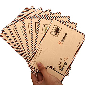 Sobres de papel de estraza para tarjetas de cartas, tarjetas ...