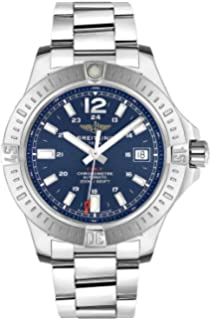 Breitling Colt 41 Automatic Blue Dial Mens Watch A1731311/C934-182A