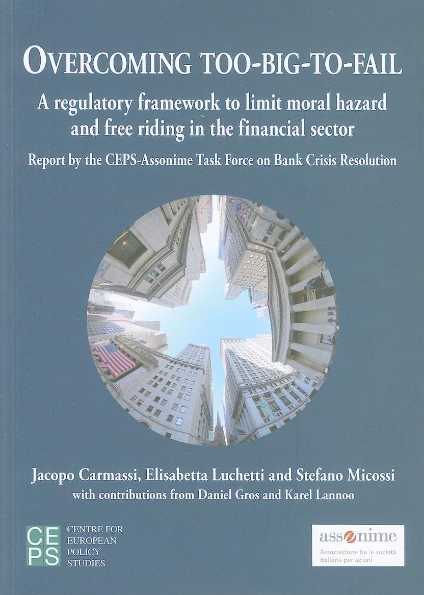Read Online Overcoming Too-Big-To-Fail: A Regulatory Framework to Limit Moral Hazard and Free Riding in the Financial Sector PDF