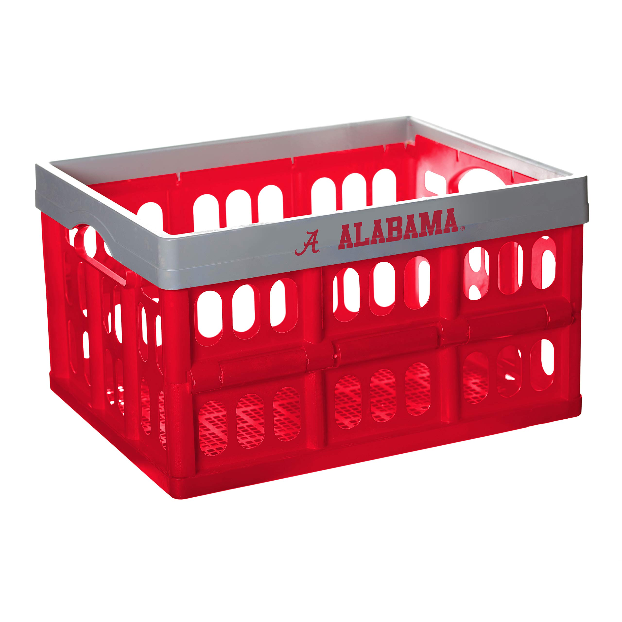NCAA Fabrique Innovations Collapsible Crate, Alabama Crimson Tide