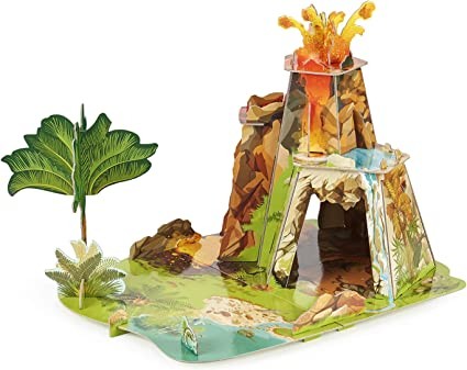 Papo The Land of Dinosaurs Playset Multicolor