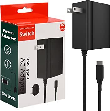 Switch Charger for Nintendo Switch, Switch Charger AC Adapter ...