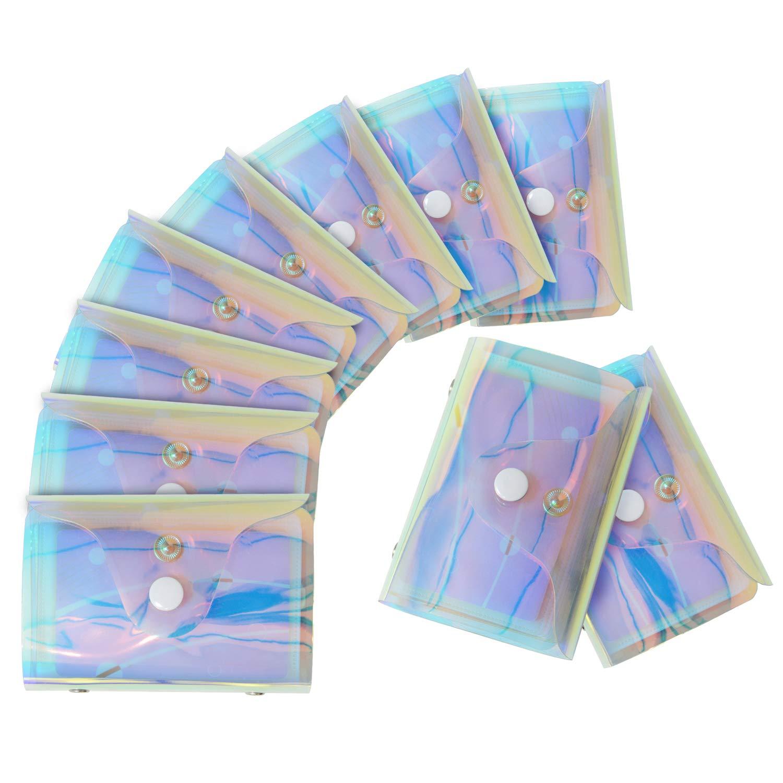 20 Tarjetas L/áser Transparente Tarjeteros para Tarjetas de Credito Mujer Hombre 36 Tarjetas 20 Tarjetas
