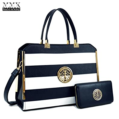 MMK collection Women Fashion Matching Satchel handbags with wallet ...