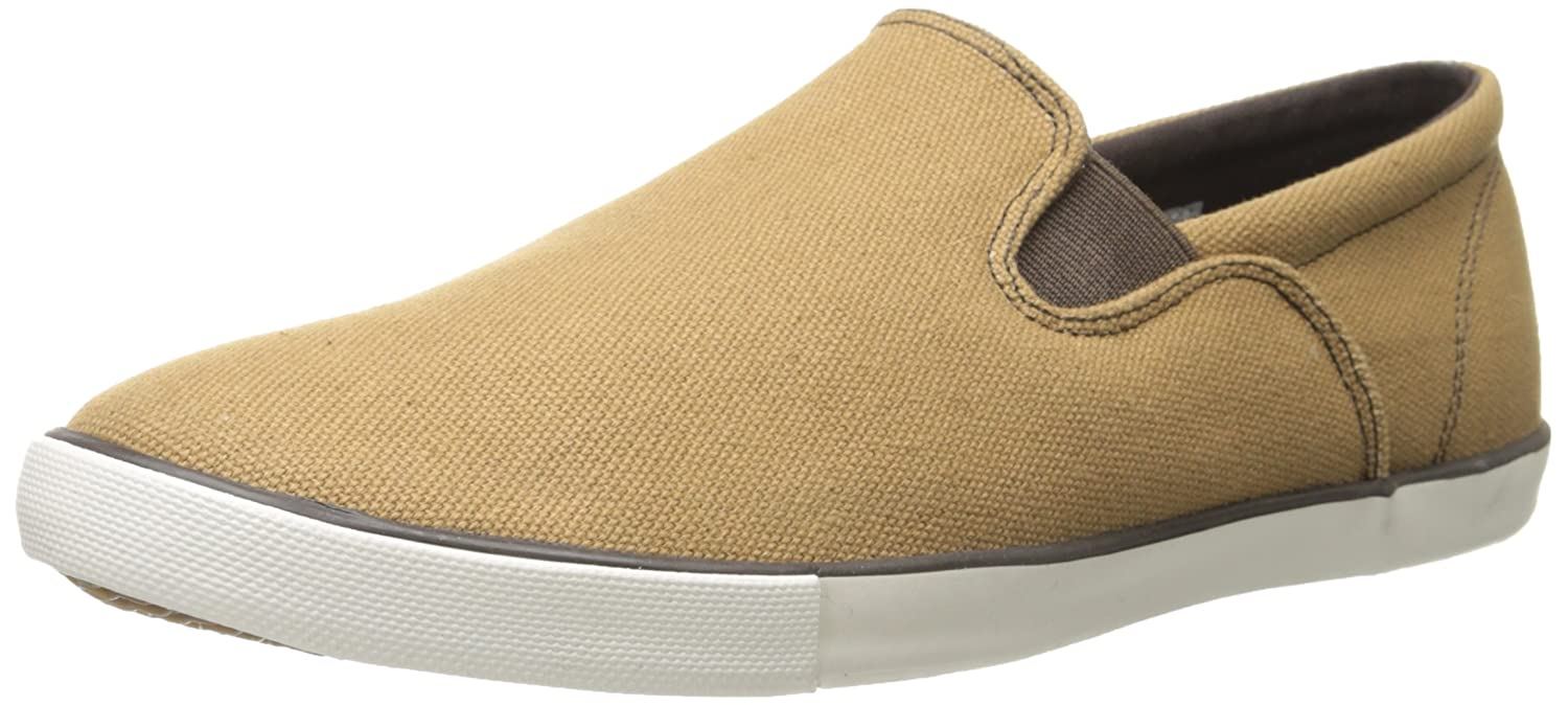Amazon.com | Woolrich Men's Dock Casual Slip-On Sneaker, Brush Brown Canvas,  10 M US | Fashion Sneakers