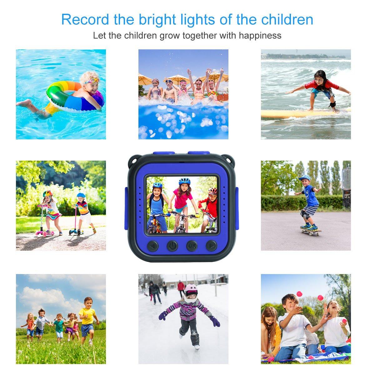 Prograce Kids waterproof action video camera (blue)