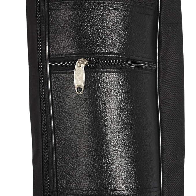 Amazon.com: Leoie Estuche suave impermeable de las correas dobles de la mochila del engrosamiento de la mochila del bolso de la guitarra de 41 pulgadas: ...