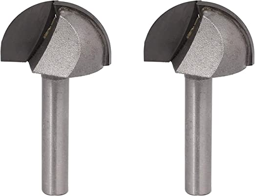 """Industrial Quality Carbide Tipped Cove Core Box Router Bit Cutter 1//4/""""  x 3//16/"""""""