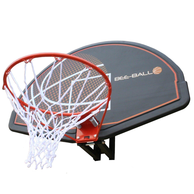 BEE-BALL ZY-015 aro de baloncesto de tamaño completo tablero y red para uso al aire libre para adultos y niños. Big Game Hunters
