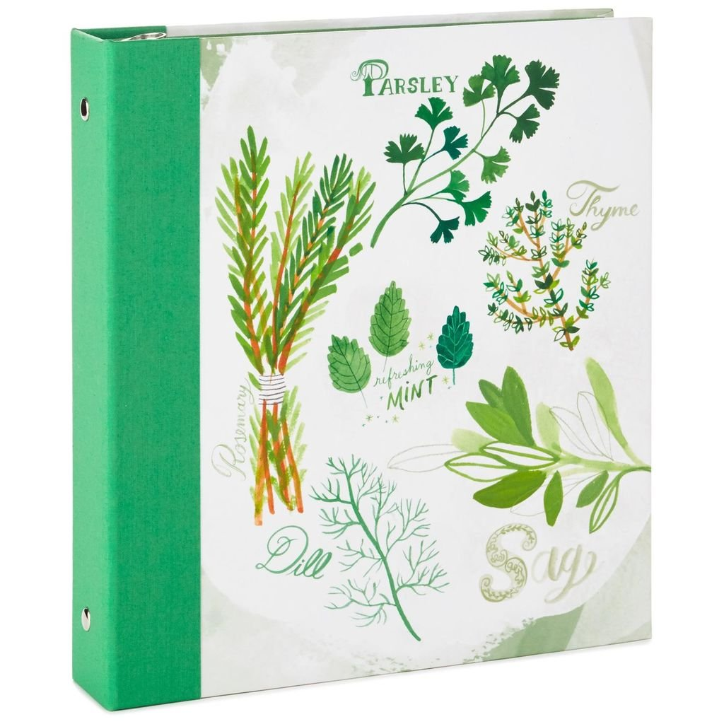 Hallmark Herbs and Spices Recipe Organizer Book