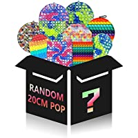 Random Big Pop It Push Bubble Large Fidget Toy 1Pcs Huge Jumbo Giant Stress 100 Popitz Mega Reliever Silicone Sensory…