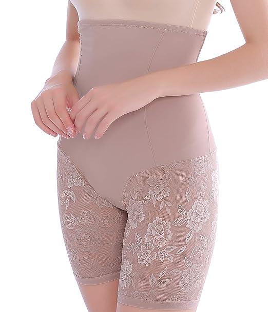 6db35f50d44030 Women Waist Shapewear Shorts High Waisted Tummy Control Mid-Thigh Slimmer  Underwear Stomach Body Shaper Panties Seamless: Amazon.ca: Clothing &  Accessories