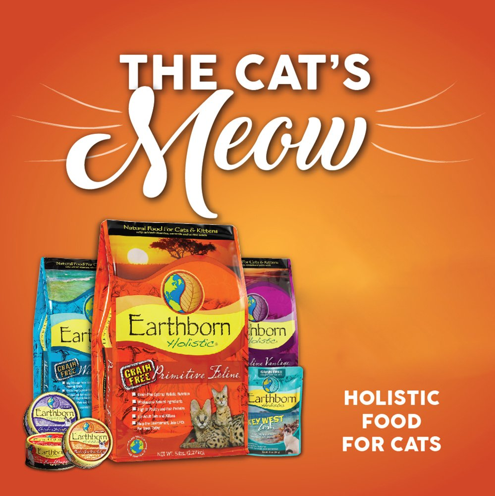 Earthborn Grain Free Primitive Feline 14 lbs by Earthborn Holistic (Image #6)