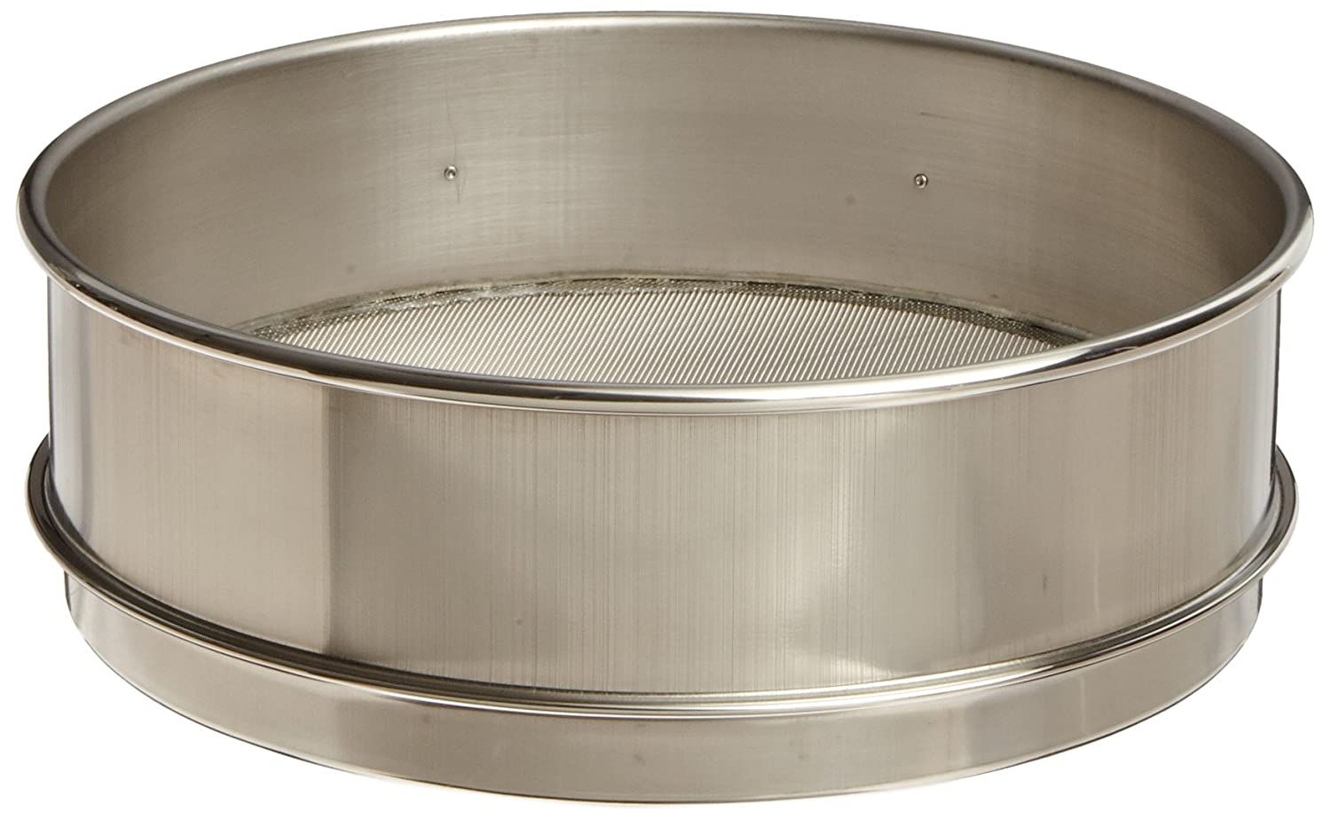 Advantech Stainless Steel Test Sieves, 8' Diameter, #35 Mesh, Full Height 8 Diameter 35SS8F