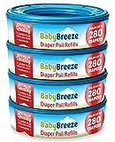 BabyBreeze Diaper Pail Refills Bags for Diaper
