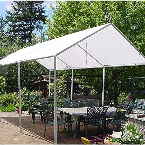 XFGG Lona Impermeable, Lona Toldo, Protector Solar Prueba De Lluvia Protección UV Prueba De Polvo Pérgola Acampar Piscina (Size : 5mx6m(16x20ft)): Amazon.es: Hogar