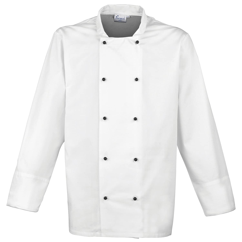 Premier Unisex Cuisine Long Sleeve Chefs Jacket