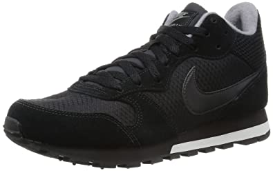 buy online ba513 9abdf nike womens MD runner MID hi top trainers 807172 sneakers shoes (US 6.5,  black