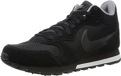 Nike Wmns MD Runner 2 Mid, Zapatillas de Deporte para Mujer, Negro ...