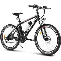 ANCHEER 26'' Electric Bike/Electric Mountain Bike/Commuting E-Bike for Adults   500W/250W Rear Hub Motor   36V 12.5Ah…