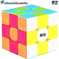 QiYi Cubo Rubik 3x3 Warrior S Speed Cube Edicion 2020 Puzzle Rompecabezas Antiestres Juego De Destreza Juguete Didactico Regalo Educativo Smart Games Magico Actividades Mentales Niños Adultos